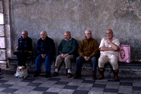 Old Sicilian Men- Taormina