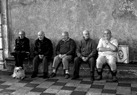 Old Sicilian Men_BW